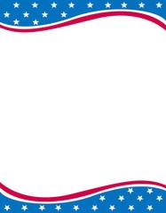 USA Patriotic frame