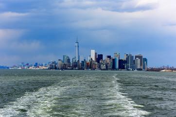 View of Lower Manhattan