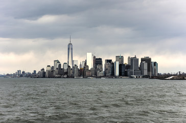 View of Lower Manhattan