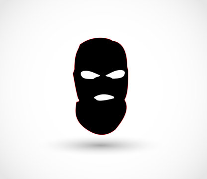Balaclava icon vector