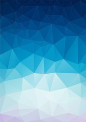 Triangle  background with geometric shapes.
