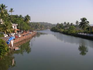 Река Бага в Индии