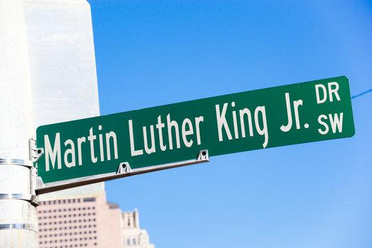 Martin Luther King Jr. Drive in Atlanta