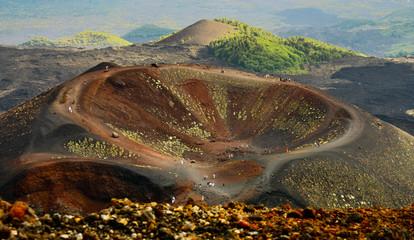Volcano mount Etna Fototapete