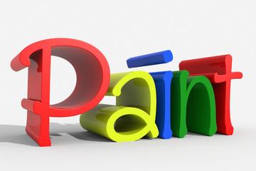 Logo 3D Paint