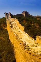 Wall Mural - Great wall under sunshine