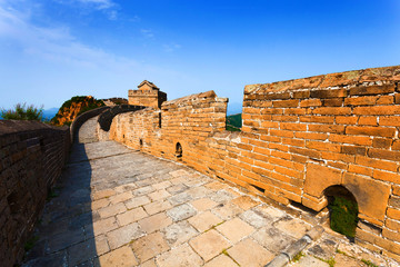 Wall Mural - Great wall under sunshine