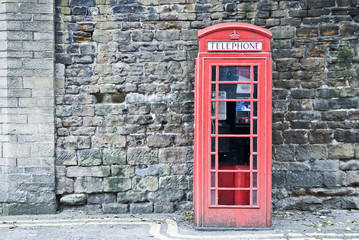 British Phone Booth in London, United Kingdom
