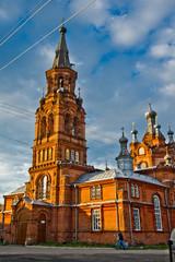 Old brick Church in Russia
