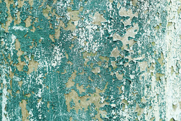 Old colorful wooden surface with cracks