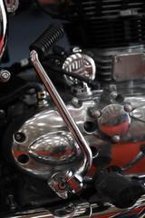 Motorcycle kick start pedal
