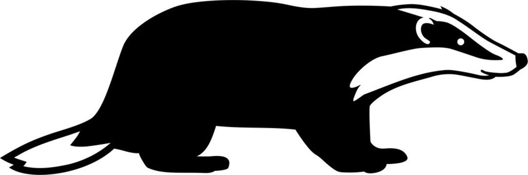 Badger Silhouette