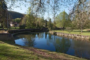 Le Céou à Daglan en Dordogne