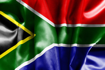 Garden Poster South Africa South Africa Flag