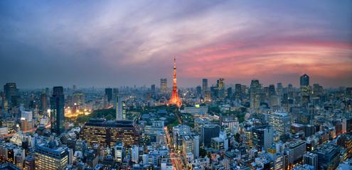 Fotomurales - Tokyo Tower in Japan