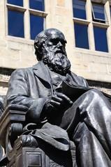 Charles Darwin statue, Shrewsbury.