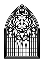 Window for churches and monasteries