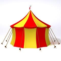 Circus 3d illustration