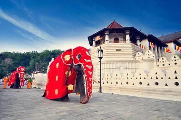 Temple of the tooth of Buddha, Kandy, SriLanka