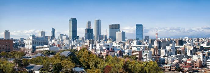 Foto op Aluminium Japan Nagoya Skyline