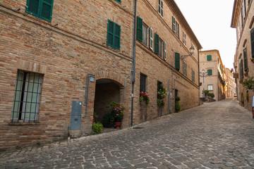 Montelupone, Macerata, Marche, italia