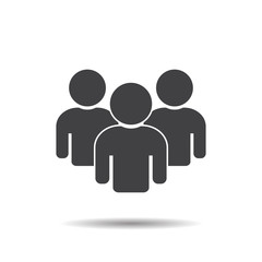 Group people icon teamwork vector illustration