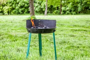 grill vorbereiten