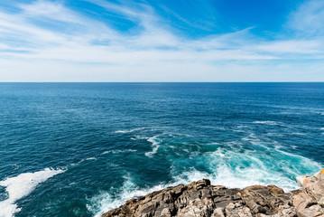 Cliff in the Rias Baixas, Galicia
