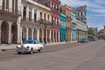 Deurstickers Centraal-Amerika Landen Havanna