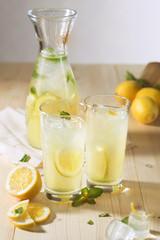 lemonade in the decanter