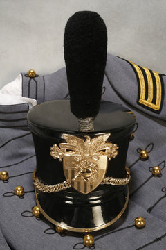 Authentic West Point military uniform with hat.