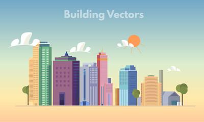 Building vector color