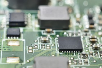 processors on circuit board
