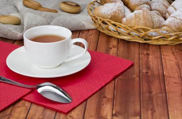 croissant tea