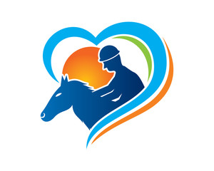 Equestrian Logo Template