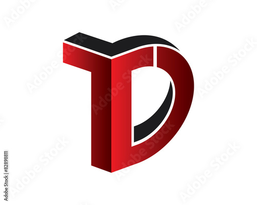 Td Letter Logo Template Stock Image And Royalty Free Vector Files