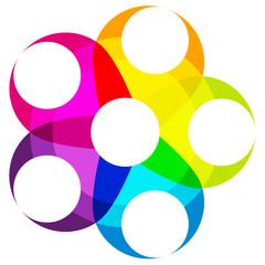 Photos illustrations et vid os de cercle chromatique - Cercle chromatique peinture ...