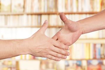 Hände Einigung Handschlag
