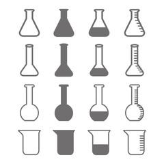 beaker icons