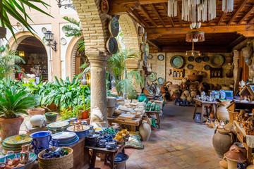 Ceramic Workshop , Ubeda Town, Jaen Province, Andalusia, Spain,