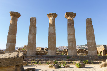 Temple of Hercules (or Heracles). Valley of Temples, Agrigento