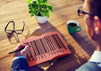 Bar Code Price Tag Coding Encryption Label Merchandise Concept
