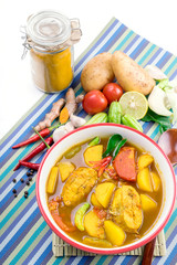 Yellow Curry with Fish