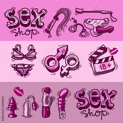 Variedade de sex shop