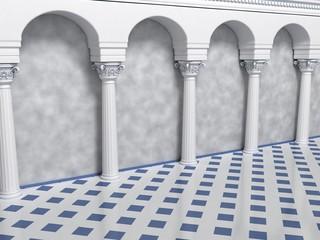 Column Arc Corridor