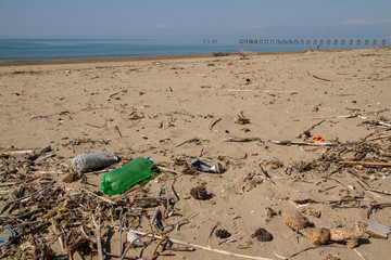 pollution plage