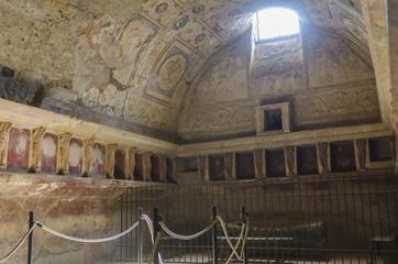 Public baths in Pompeii