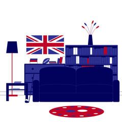 British room interior