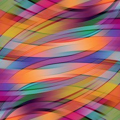 Colorful smooth light lines background