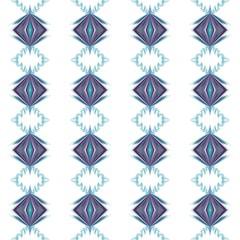 Rhombus purple blue repeating ornament folk pattern background